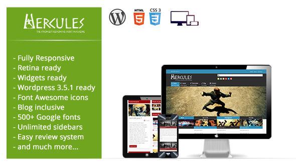 Hercules – The strongest responsive sport magazine
