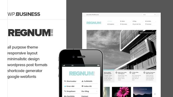 Regnum – Elegant Business Theme