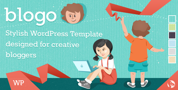 Blogo – Stylish WP Theme for Creative Bloggers