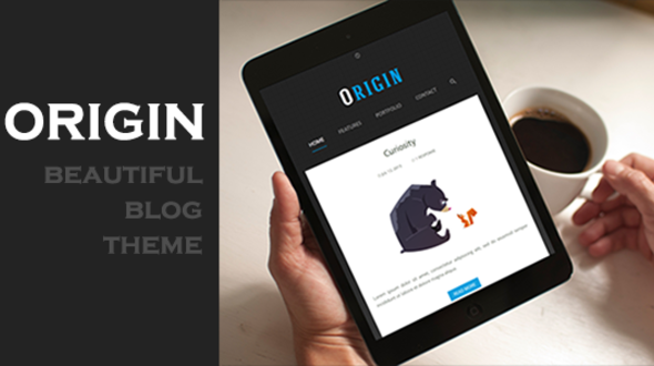 Origin – Simple and Elegant Blog Theme