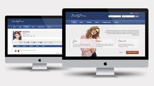 Connect – BuddyPress & WordPress Community Theme