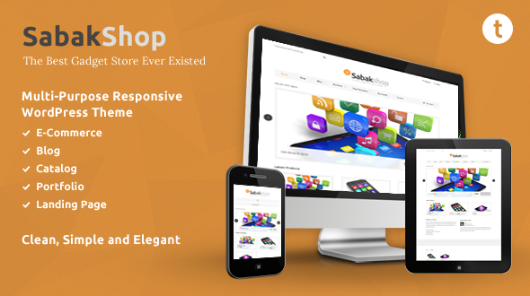 Sabak – Multi-Purpose eCommerce Responsive WordPress Theme