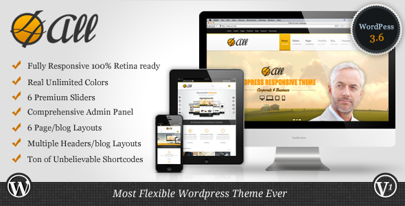 4ALL – Responsive Multi-Purpose Theme