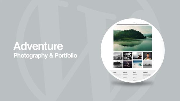 Adventure – WordPress Photography Portfolio Theme