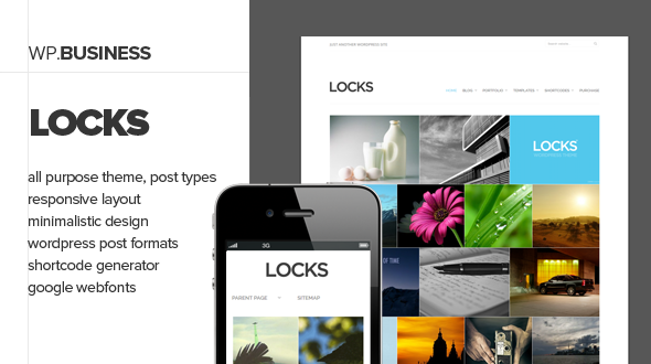 Locks – Elegant Business Theme