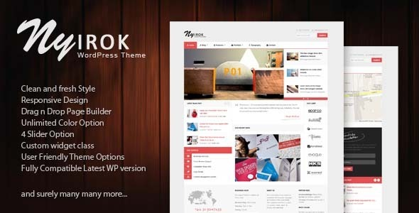 Nyirok – Portfolio & Business WordPress Themes