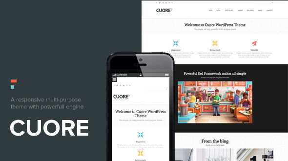 Cuore Multi-Purpose WordPress Theme