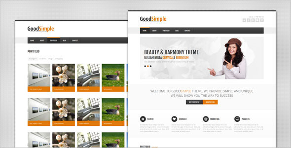 GoodSimple – Clean Business WordPress Theme