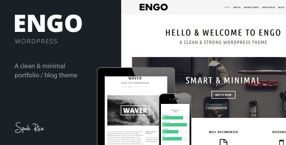 Engo – Smart & Minimal WordPress Theme