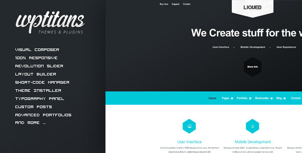 Liqued – Responsive Business Theme