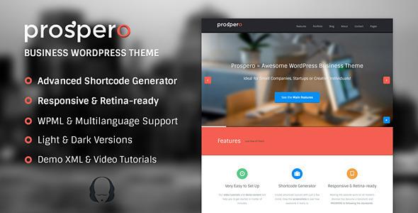 Prospero | Business WordPress Theme