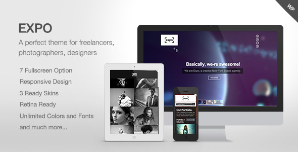 Expo – Fullscreen Photography/Portfolio Theme
