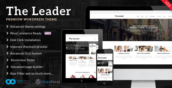 The Leader – Ecommerce Responsive M-Purpose Theme