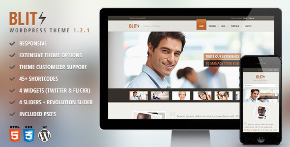 Blitz – Responsive Multi-Purpose Theme