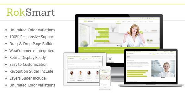 RokSmart – Responsive MultiPurpose WordPress Theme
