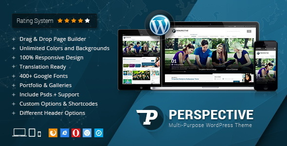 Perspective – Responsive Multi-Purpose Theme