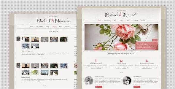 Wedding – Classic and Elegant WordPress Theme