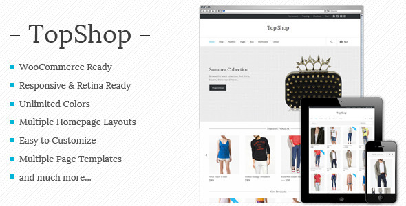 Top Shop – Multi-purpose WooCommerce theme