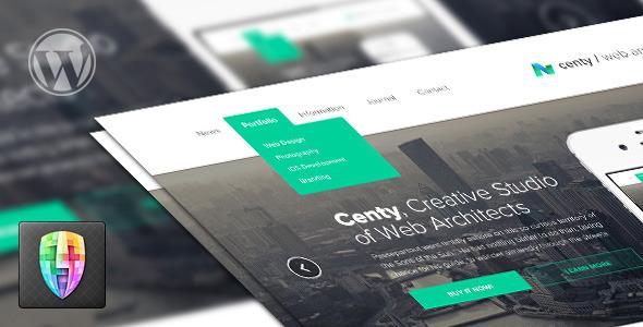 Centy – Retina Ready Responsive WordPress Theme