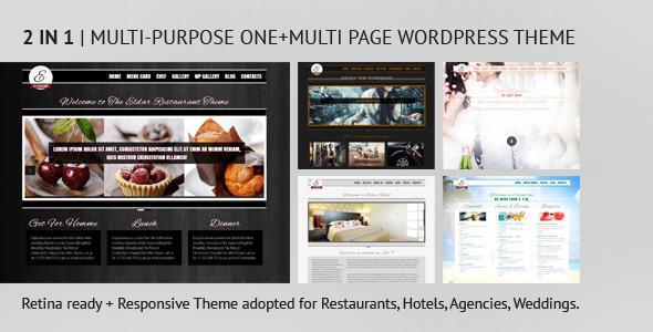 Eldar – Responsive and Retina Multi-Purpose Theme