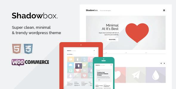 ShadowBox WP – Super Minimal WordPress Theme