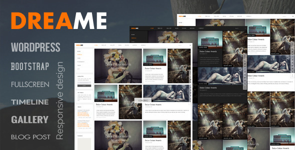 Dreame – Responsive WordPress Theme