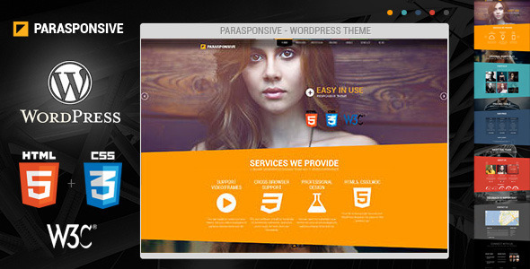 Parasponsive Corporate WordPress