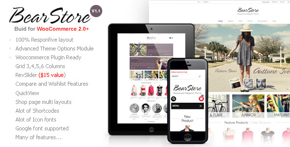 BearStore – Multipurpose Ecommerce Theme