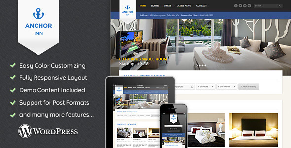 Anchor Inn – Hotel and Resort Theme