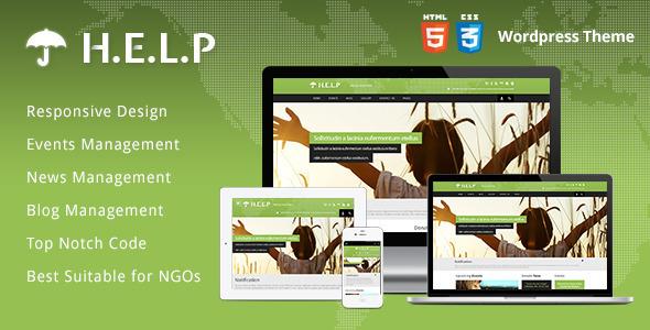 HELP – NGO WordPress Theme