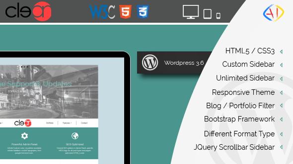 Clean – Blog Personal WordPress Theme