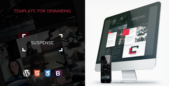 SUSPENSE – Responsive Multipurpose WordPress Theme
