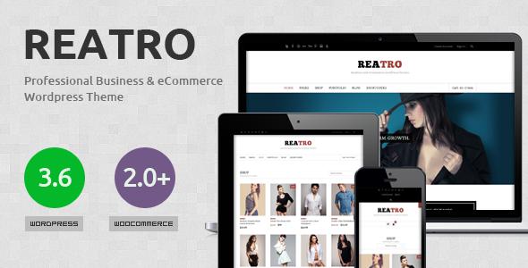 Reatro Multi-Purpose WooCommerce WordPress Theme
