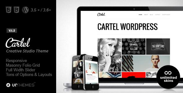 Cartel | Responsive Portfolio WordPress Theme