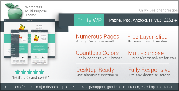 Fruity WP | Responsive WordPress Theme