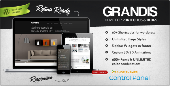 Grandis – Responsive Multi-Purpose Theme