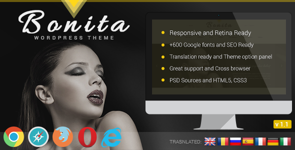 Bonita Responsive WordPress Theme