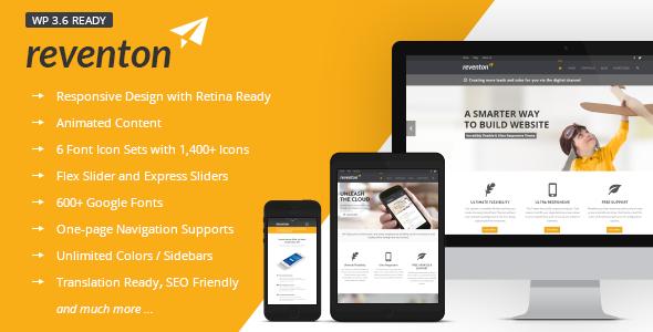 Reventon – Clean Multi-Purpose Responsive Theme