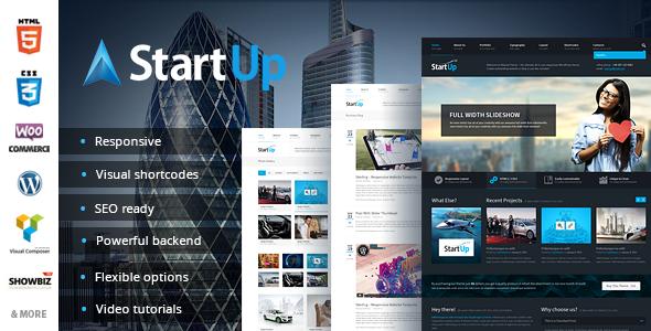 StartUp – Multi-Purpose Responsive Theme
