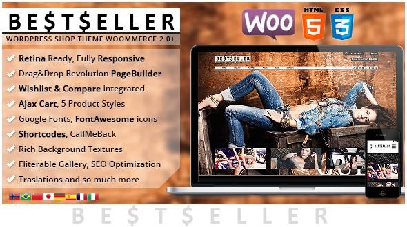 BestSeller – Responsive Shop Theme