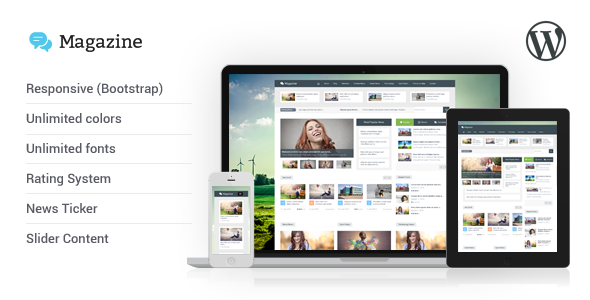 Magazine – Responsive Multipurpose WordPress Theme