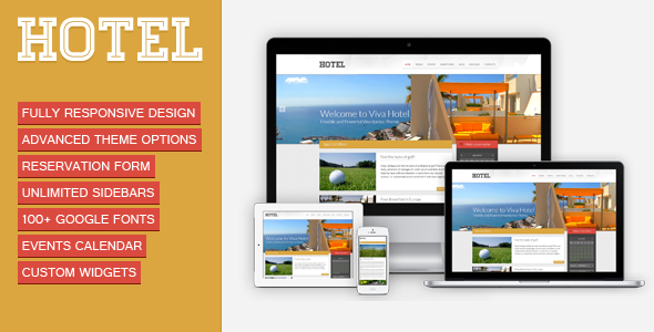 Viva Hotel | Premium Responsive WordPress Theme