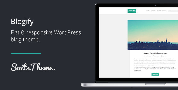 Blogify Flat Responsive WordPress Blog Theme