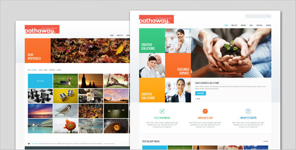 Pathaway – Modern Business WordPress Theme