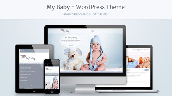 My Baby – Baby's Responsive WordPress Theme