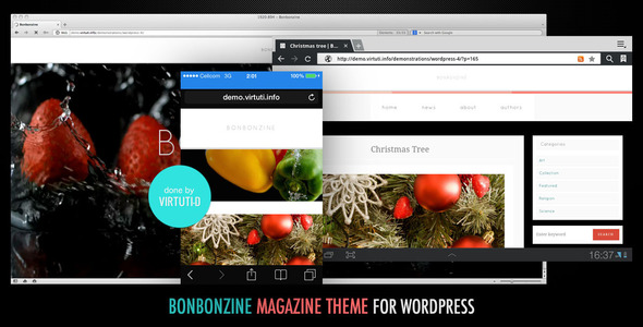 Bonbonzine–Magazine | Blog Theme