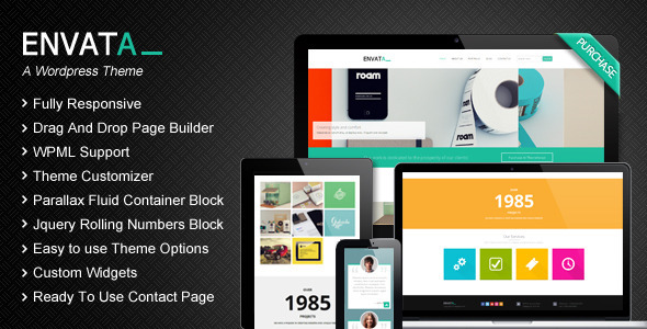 Envata – Responsive WordPress CMS Theme
