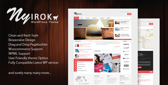 Nyirok – MultiPurposes WooCommerce WordPress Theme