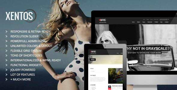 Xentos – Multipurpose WordPress Theme