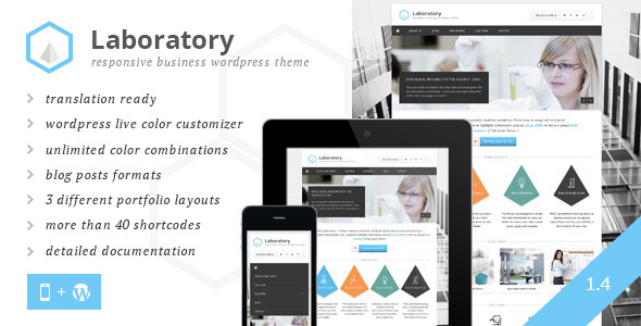 Laboratory Business Theme